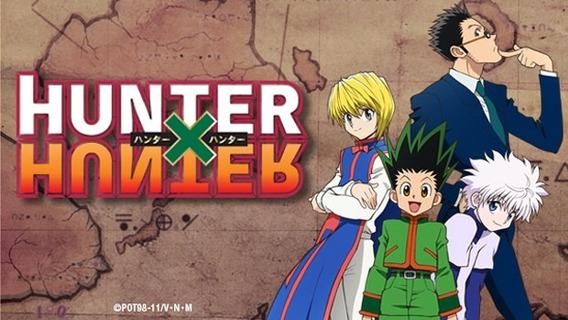 Hunter X Hunter Série Animada Completa Dublado