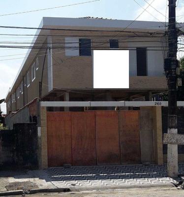 Sobrado De Condomínio Com 2 Dorms, Esplanada Dos Barreiros, São Vicente - R$ 220 Mil, Cod: 434 - V434