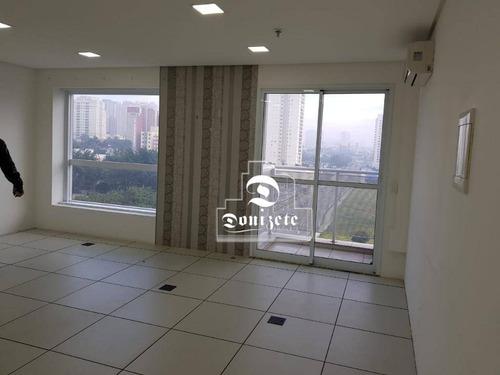 Sala À Venda, 37 M² Por R$ 300.000,00 - Jardim - Santo André/sp - Sa0669