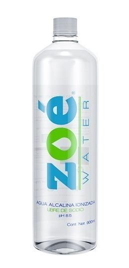 Agua Alcalina Zoé Water , 900ml