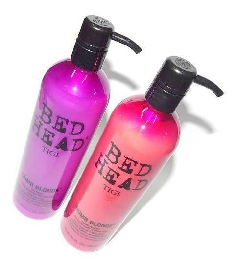 Kit Tigi Bed Head Dumb Blonde Shampoo + Acondicionador 750ml