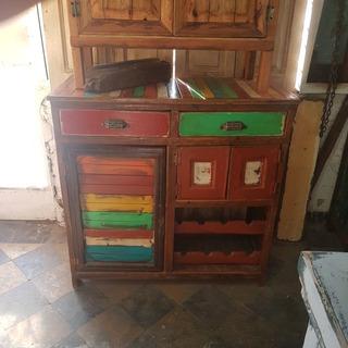 Arrime Vintage Rustico Uliomar 90x40x90