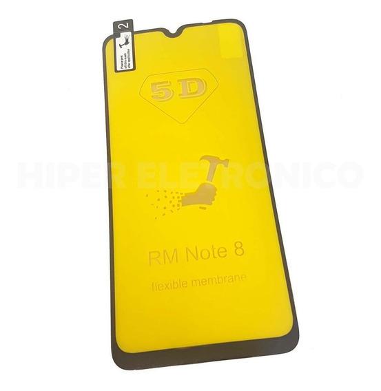 Película De Gel 5d Silicone Nano Redmi Note 8