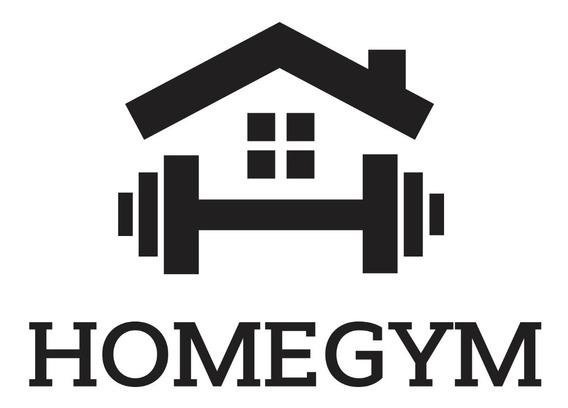 Adesivo De Parede Home Gym Fitness Academia Musculação