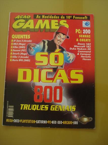 Revista Ação Games 106 Só Dicas 800 Truques Killer Mk3 F795