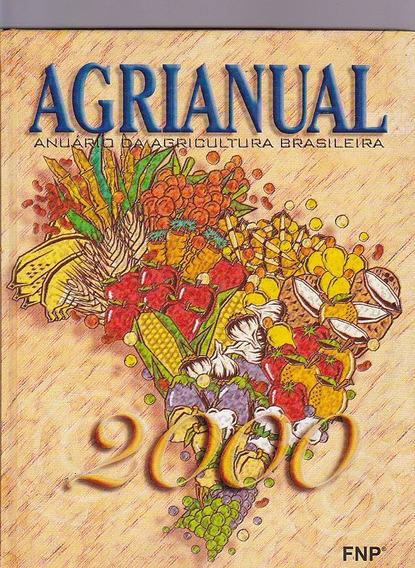 Livro Agrianual Anuario Da Agricultura Brasileira - Ano 2000