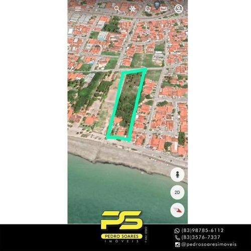 Imagem 1 de 1 de Terreno À Venda, 7.200 M² Por R$ 15.000.000 - P. Areia Dourada - Cabedelo/paraíba - Te0260