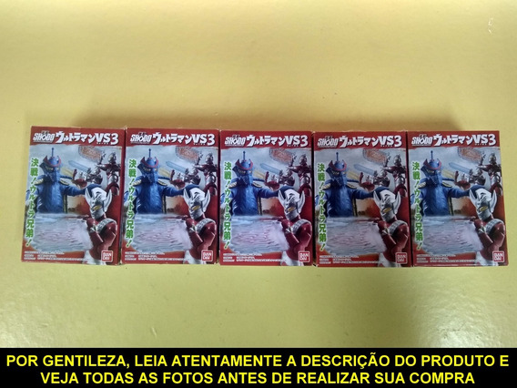 Bandai Shodo Ultraman Vs3 - 6pcs - Completo E Em Promoção
