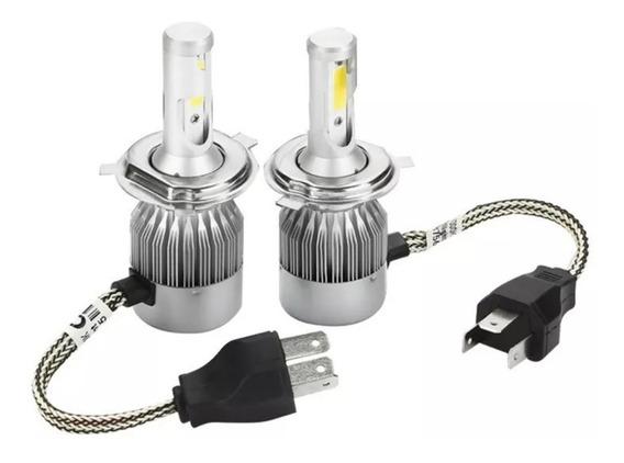 Led Headlight Automotiva H4 36w 3800lm Carro Universal