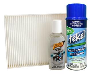 Kit Desinfectante Y Filtro De Cabina Platina 02-09 1.6