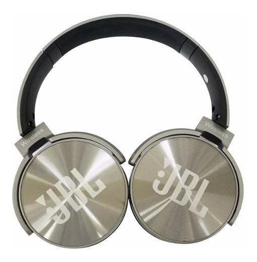 Fone de ouvido sem fio JBL Everest JB950 cinza