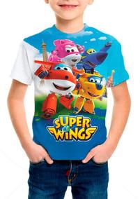 Camiseta Infantil Anime Super Wings