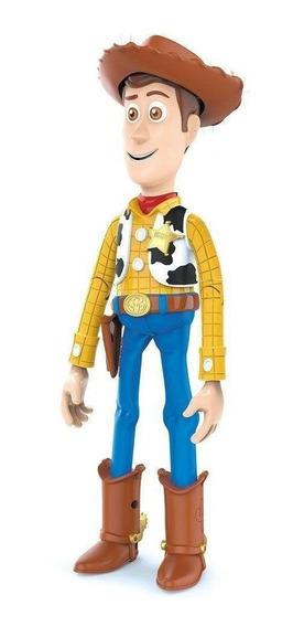 Boneco Woody Toy Story Com Som - 14 Falas Em Português