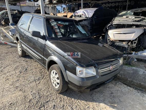 Fiat Uno 1.0 2009 Com A/c Sucata Para Retirada De Peças
