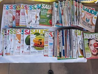 Revista Saúde É Vital Abril 10 Edições Variada Frete Grátis