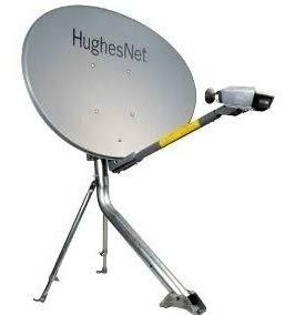 Antena Ku 60cm Da Hughesnet + 20m De Cabo