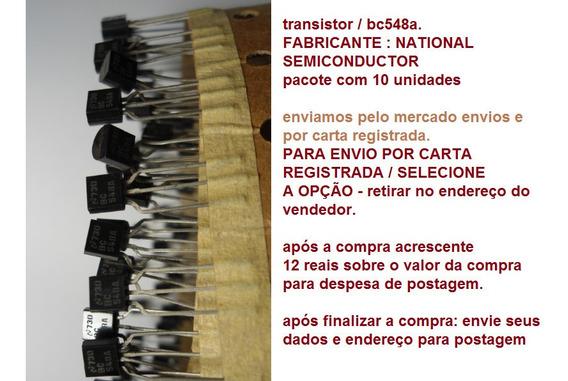 Transistor / Bc548a- Enviamos Por Carta Registrada