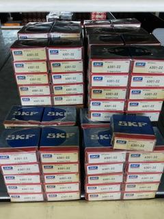 10 Unidades Rodamiento 6301 2z - Skf