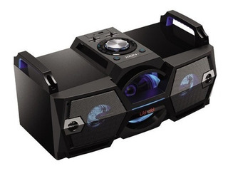 Parlante Xion 5000w Mp3 Usb Sd Bluetooth Ampli Led