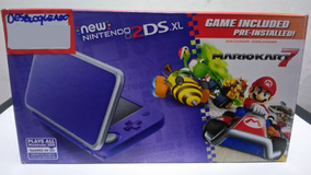 New Nintendo 2ds Xl Original Novo + Jogo Brinde Loja Bh