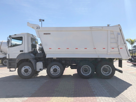 Mb 4144 8x4 Caçamba Meia Cana=pastre, Cargo, Volks, Scania