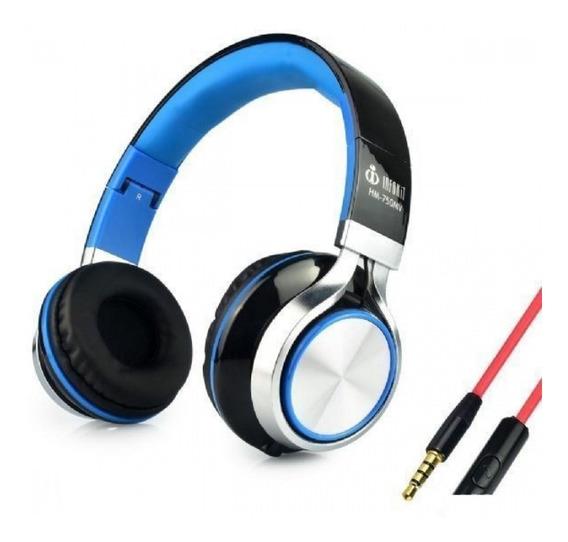 Headfone C/ Microfone Hm-750mv Infokit
