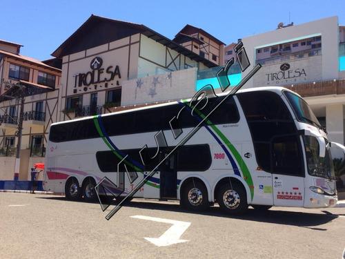 Imagem 1 de 10 de Paradiso 1800 Dd Scania K-360 4 Eixos 2002/03 54 Lug Ref 693