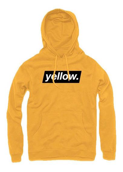 Sudadera Hoodie Amarilla Yellow ( Yellow ) Canario Unisex