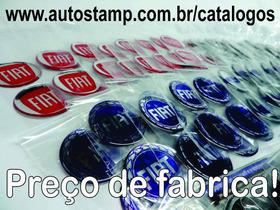 Emblema Para Calota Kit 50jg Vw Fiat Gm Ford - Monte O Seu!