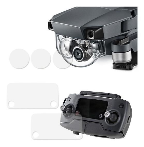 Película Tela Controle Remoto Lente Câmera Drone Mavic Pro
