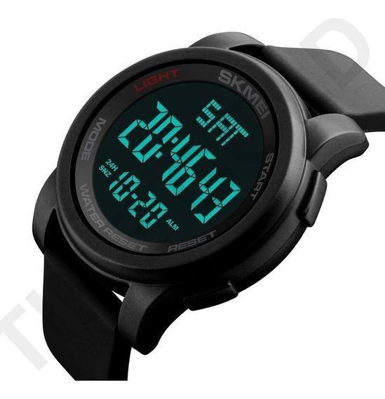 Relógio Skmei 1257 Digital Esportivo Led Pulseira Silicone