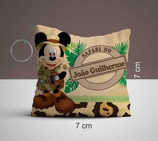 30 Almochaveiros Mickey Safari, Personalizado Lembrancinhas