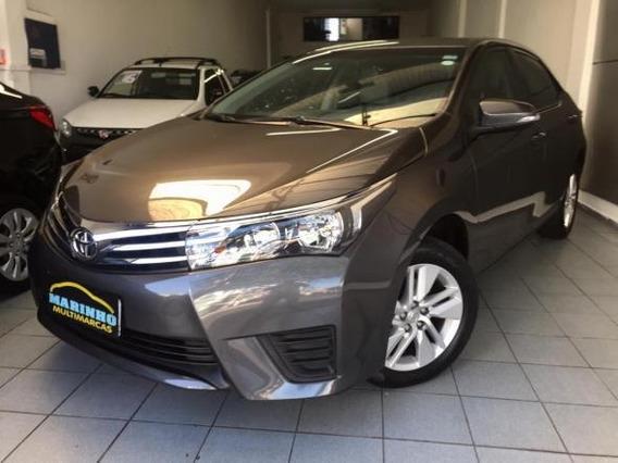 Corolla Upper 2017 Automática Couro Rodas Un Dono 30.000 Km
