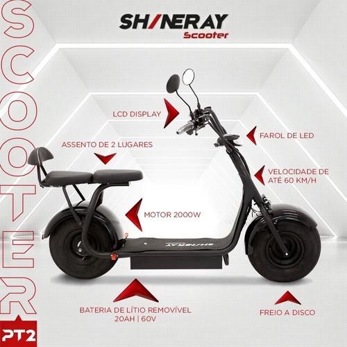 Scooter Elétrica Pt2 Shineray