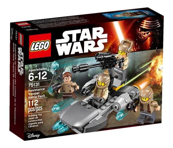 Lego 75131 Star Wars Pack De Combate De La Resistencia