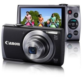 Canon Powershot A3500 Is Câmera Digital De 16mp Com Zoom