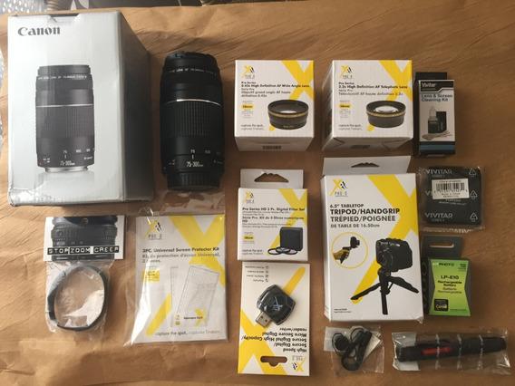 Kit Lente 75x300mm E Acessorios Cameras Canon