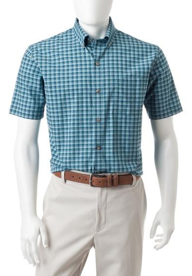 Camisa Van Heusen Talla L Cuello 16-16.5 Luxe Touch // C6