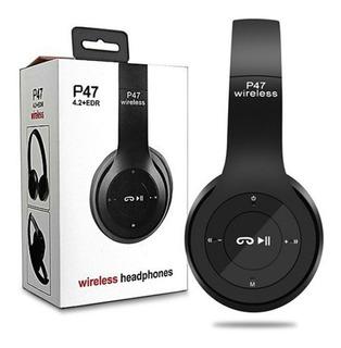 Audifonos Bluetooth P47 Alta Calidad Micro Sd Mp3 Fm Colores