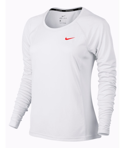 Sueter De Dama Nike Dri-fit Unicolor Sudadera