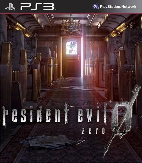 Residente Evil Zero 0 Ps3 Midia Digital Psn Ori Envio Rápido
