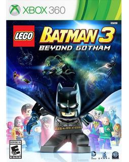 Lego Batman 3 Beyond Gotham - Xbox 360 - Usado