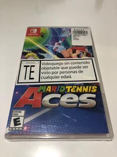 Mario Tennis Aces Nuevo Sellado Envio Gratis