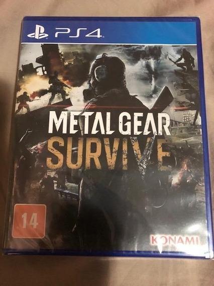 Metal Gear Survive - Playstation 4 - Mídia Física