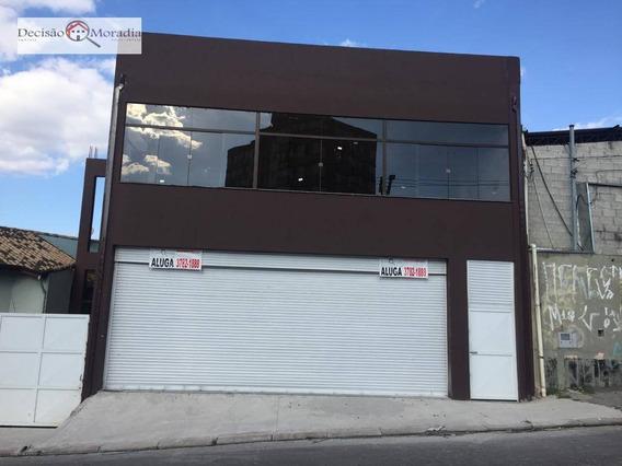 Salão Para Alugar, 400 M² Por R$ 10.000/mês - Pq.ipê/butantã - São Paulo/sp - Sl0033