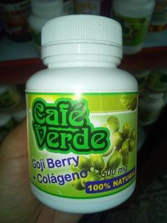 Café Verde Com Goji Berry+colágeno Emagrec,diuréti 150cáp