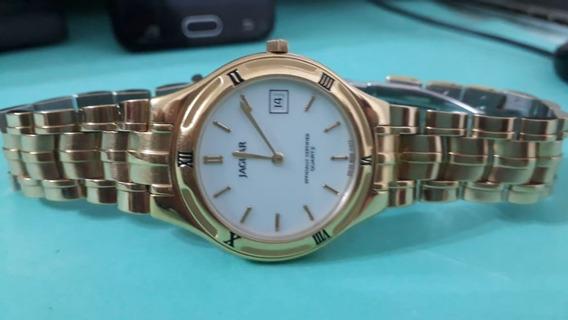 Relógio Jaguar Quartzo Certificado Oficialmente Suíço