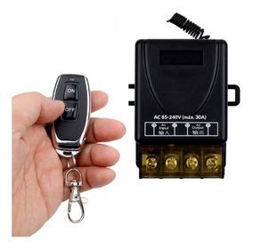 Interruptor Sem Fio Remoto Bivolt 110v 220v 30a On / Off