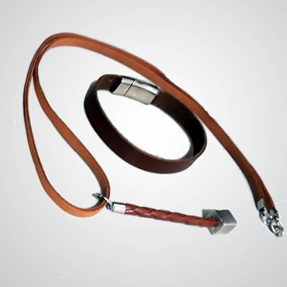 Conjunto Truck Leather And Steel (m)