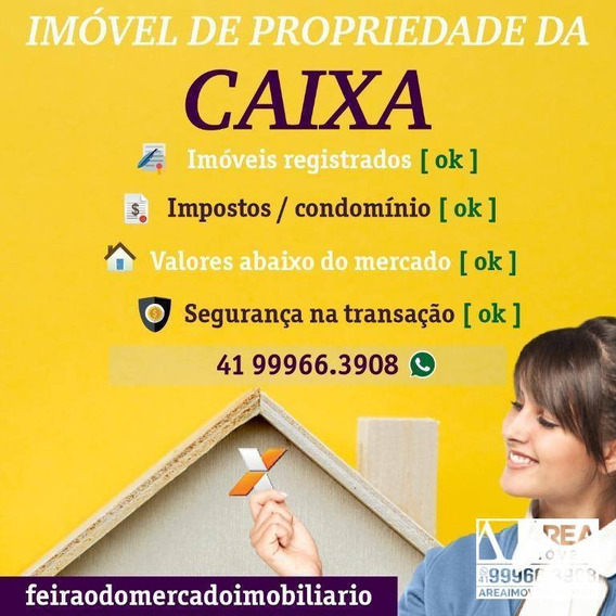 Casa Com 3 Dormitórios À Venda, 53 M² Por R$ 64.780 - Planalto - Contenda/pr - Ca0057